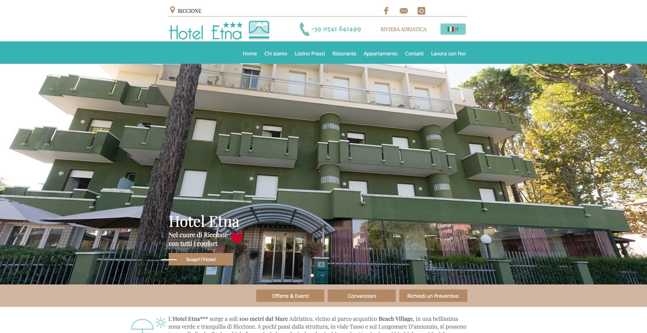 Tonelli Design Listino Prezzi.Home Hotel Etna Riccione Riviera Adriatica